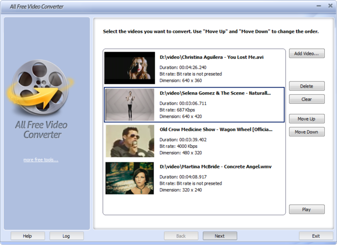 All Free Video Converter Screenshot