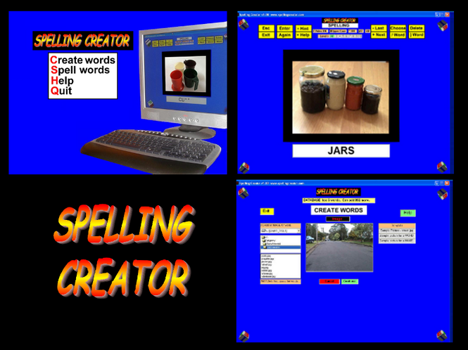 Spelling Creator Screenshot