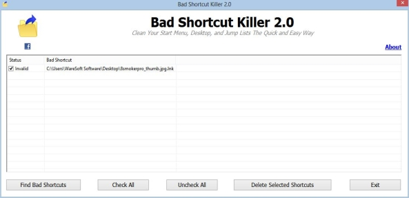 Bad Shortcut Killer Screenshot