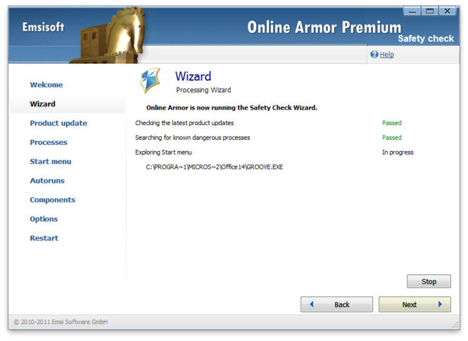 Online Armor Premium Firewall Screenshot 2