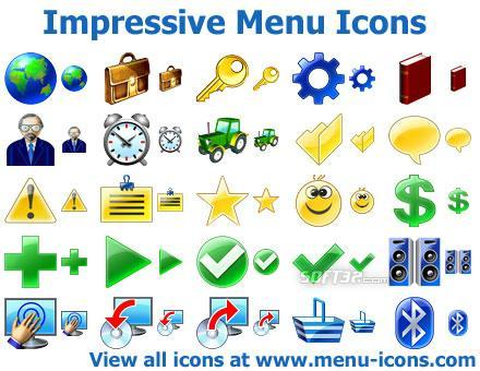Impressive Menu Icons Screenshot 2