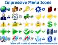 Impressive Menu Icons 1