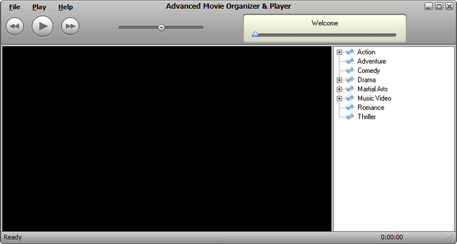 Advanced Movie Organizer Screenshot