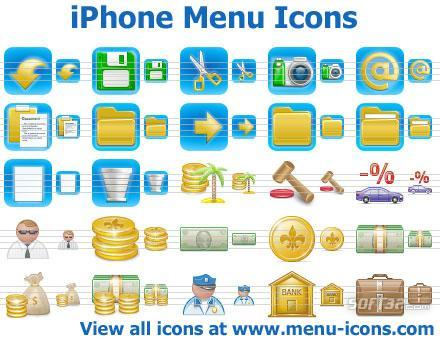 iPhone Menu Icons Screenshot 2