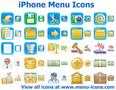 iPhone Menu Icons 1