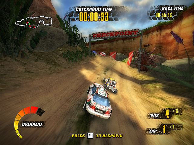 Extreme Jungle Racers Screenshot 1
