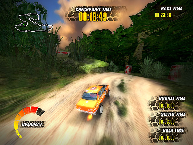 Extreme Jungle Racers Screenshot 2