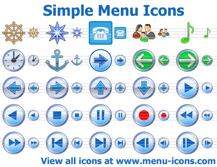 Simple Menu Icons Screenshot