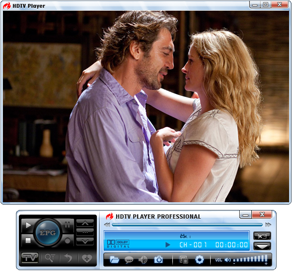 BlazeVideo HDTV Player Standard Screenshot 1