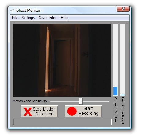 Ghost Monitor Screenshot