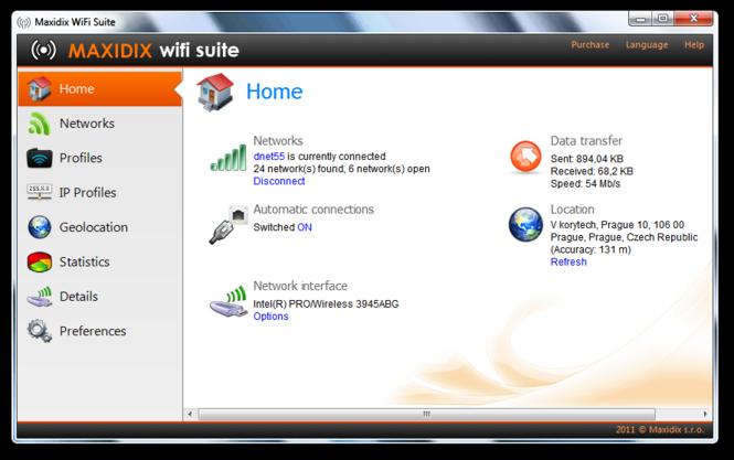 Maxidix Wifi Suite Screenshot 1