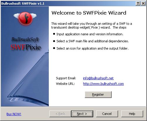BullrushSoft SWFPixie Screenshot