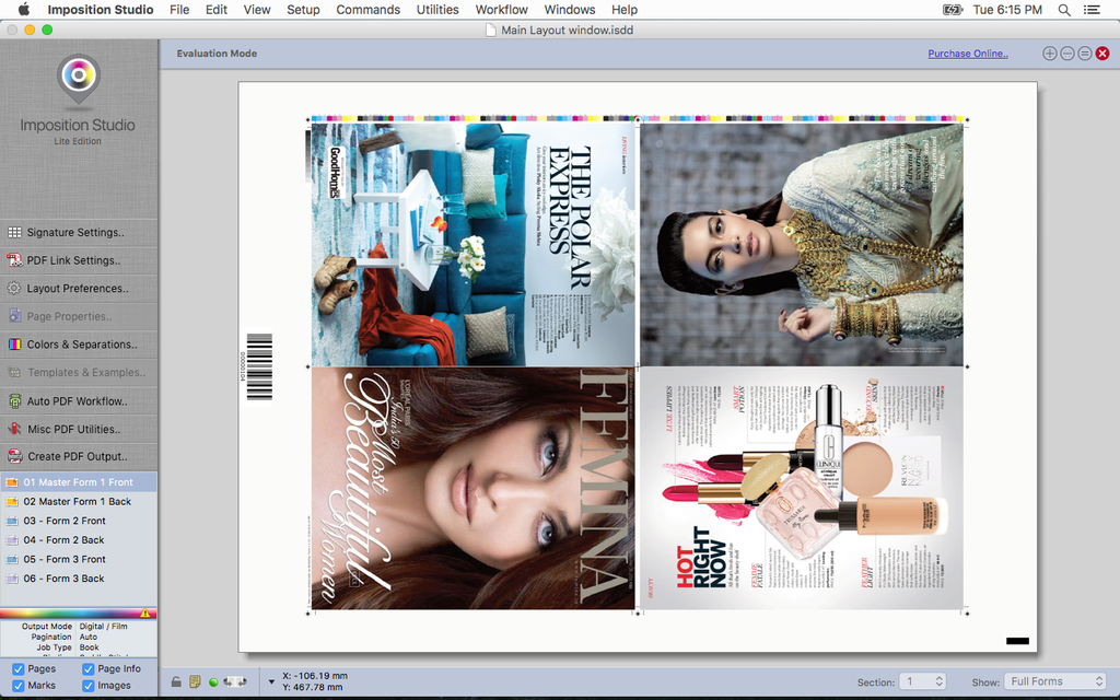 Imposition Studio Screenshot 8