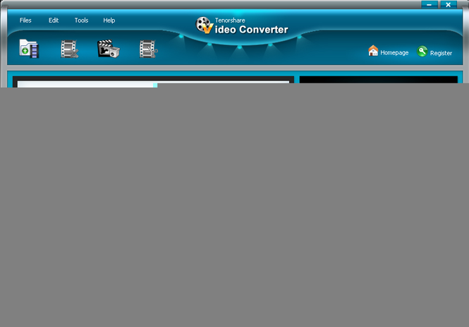 Tenorshare Video Converter Screenshot