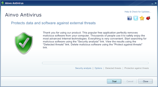 Ainvo Antivirus Screenshot 2
