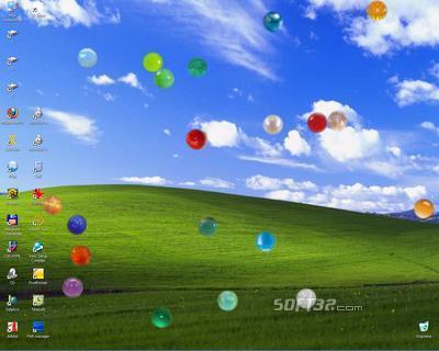 SmallBalls Screensaver Screenshot 2