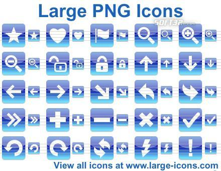 Large PNG Icons Screenshot 2