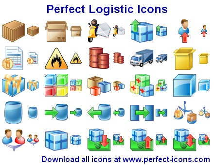 Perfect Logistic Icons Screenshot 1