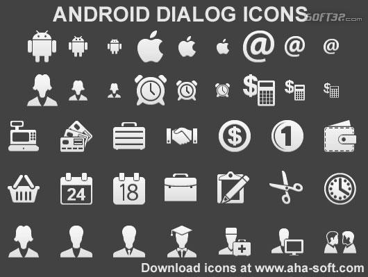 Android Dialog Icons Screenshot 2
