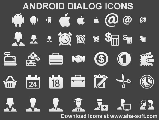 Android Dialog Icons Screenshot 1