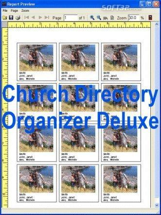 Church Directory Organizer Deluxe Screenshot 2