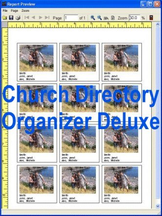 Church Directory Organizer Deluxe Screenshot