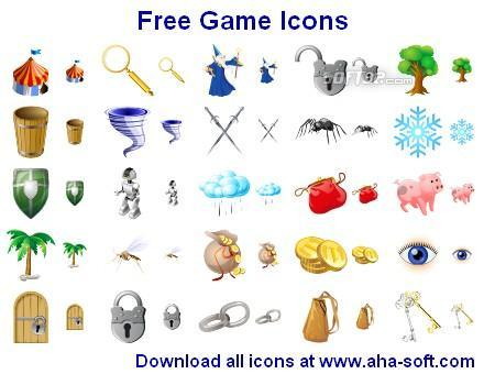 Free Game Icons Screenshot 2
