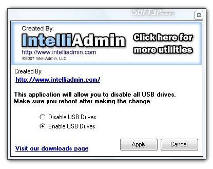 USB Drive Disabler Screenshot 2