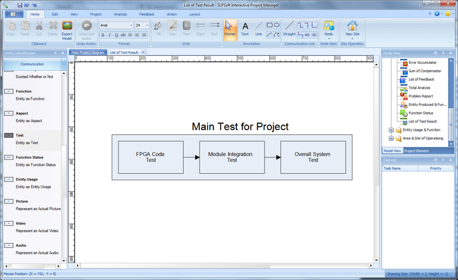 SLPSoft Interactive Project Manager Screenshot