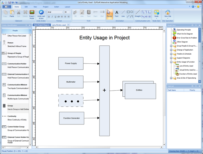 SLPSoft Interactive Application Modeling Screenshot