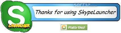 SkypeLauncher Screenshot 2