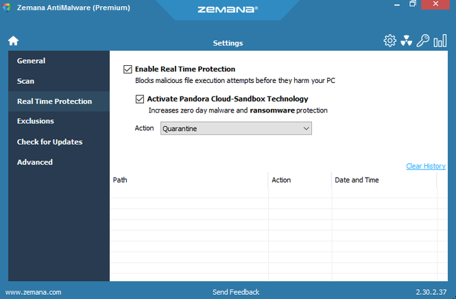 Zemana AntiMalware Screenshot 4