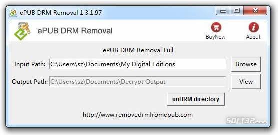 ePub Drm Removal Screenshot 2
