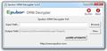 Adobe ePUB PDF Decrypter 1