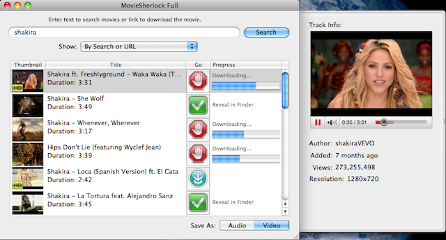 MovieSherlock Pro Screenshot 1
