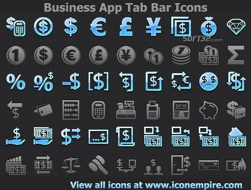 Business App Tab Bar Icons Screenshot 2