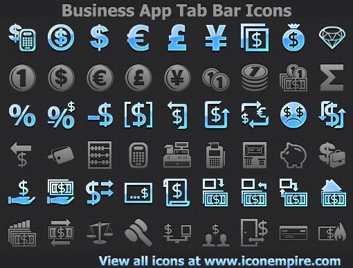 Business App Tab Bar Icons Screenshot 1