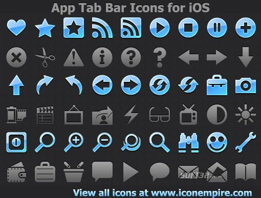 App Tab Bar Icons for iOS Screenshot 2
