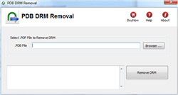 PDB DRM Removal Screenshot