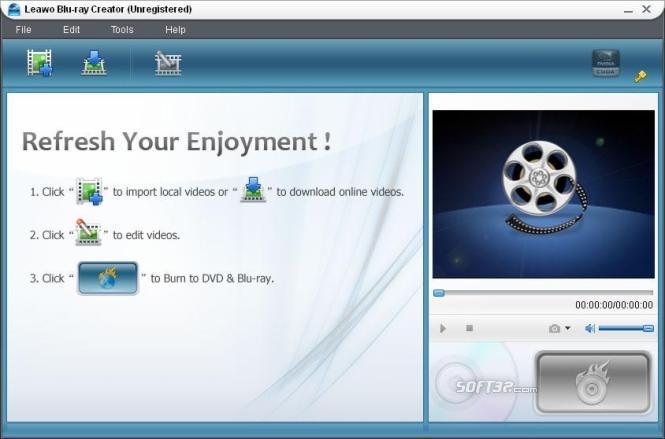 Leawo Blu-ray Creator Screenshot 2