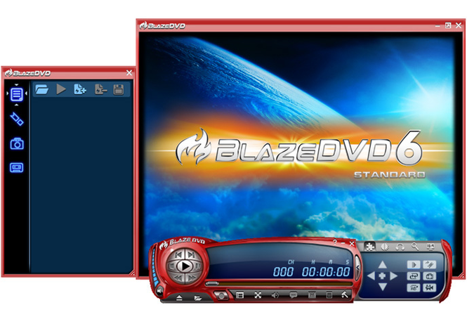 Blaze DVD professional Screenshot