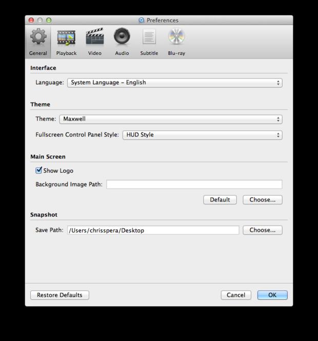 Macgo Mac Blu-ray Player Screenshot 4