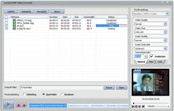 bvcsoft 3GP Video Converter Screenshot