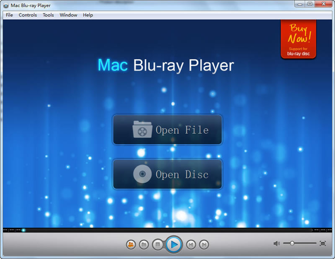 Macgo Windows Blu-ray Player Screenshot 1