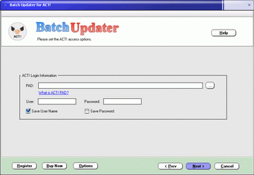 BatchUpdater for ACT! Screenshot