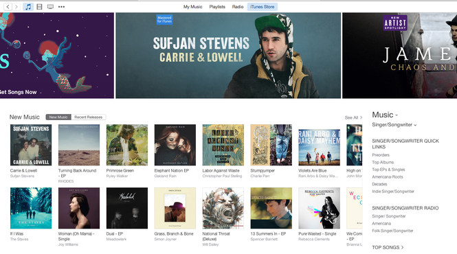 iTunes Screenshot 1