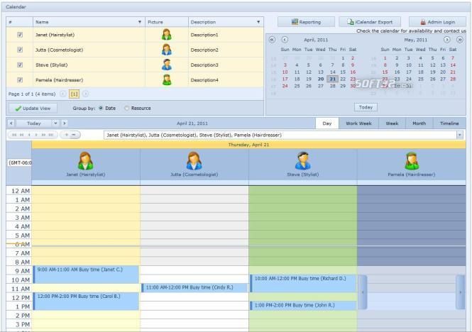 Salon Booking Service Screenshot 2