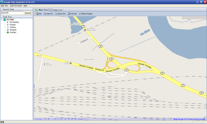 Google Map Superget Screenshot