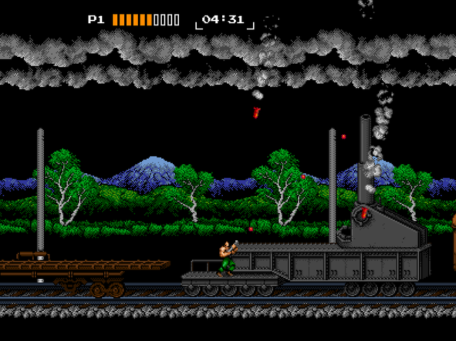 8-Bit Commando Screenshot 1