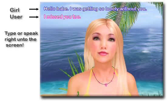 VGirl3D Screenshot 1